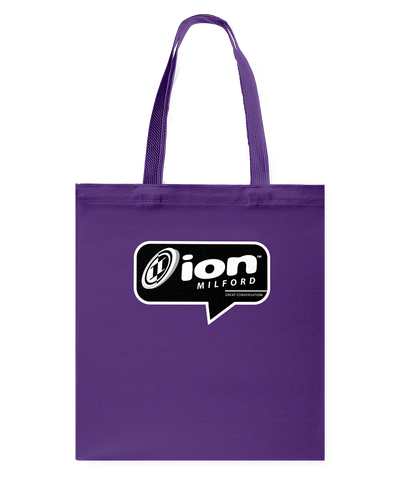 ION Milford Conversation Canvas Shopping Tote