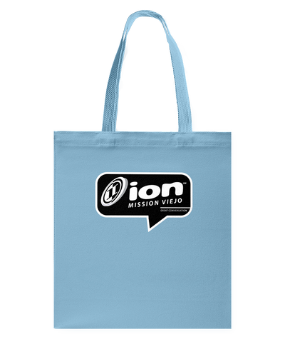 ION Mission Viejo Conversation Canvas Shopping Tote