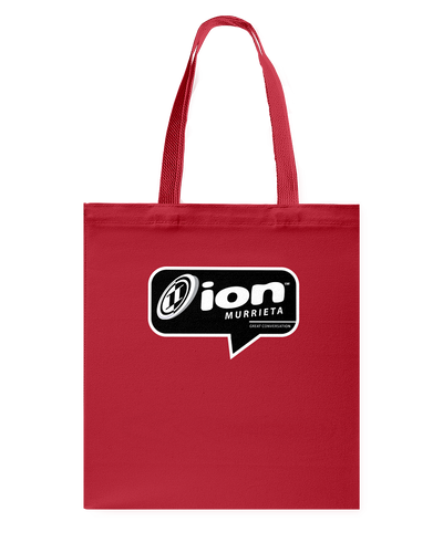 ION Murrieta Conversation Canvas Shopping Tote
