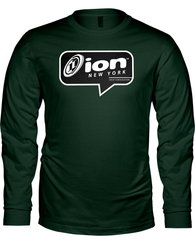 ION New York Conversation Long Sleeve Tee