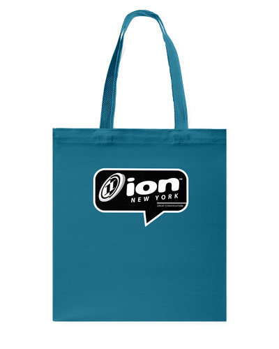 ION New York Conversation Canvas Shopping Tote