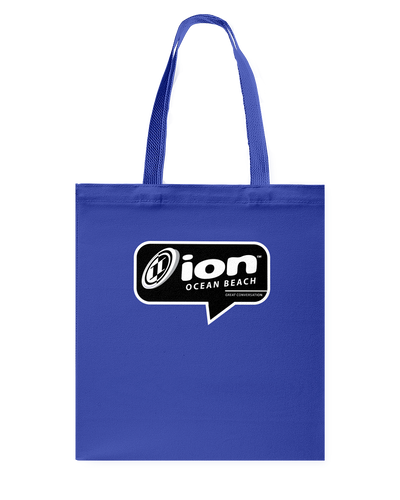 ION Ocean Beach Conversation Canvas Shopping Tote