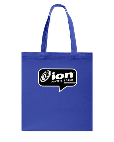 ION Pacific Beach Conversation Canvas Shopping Tote