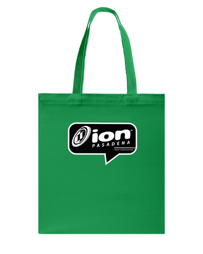 ION Pasadena Conversation Canvas Shopping Tote