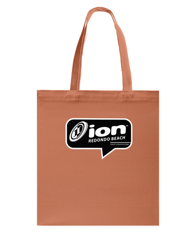 ION Redondo Beach Conversation Canvas Shopping Tote