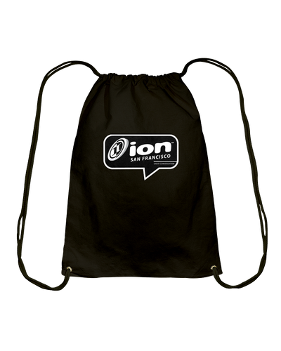 ION San Francisco Conversation Cotton Drawstring Backpack