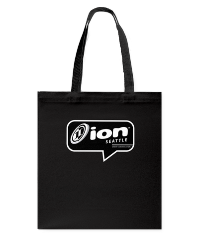 ION Seattle Conversation Canvas Shopping Tote
