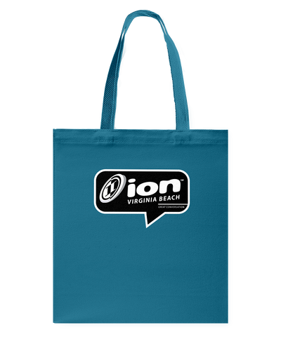 ION Virginia Beach Conversation Canvas Shopping Tote