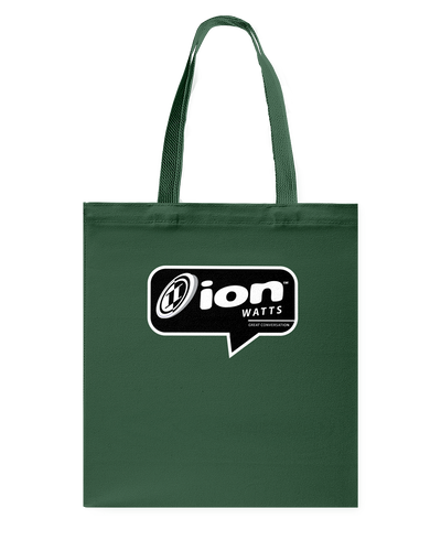 ION Watts Conversation Canvas Shopping Tote