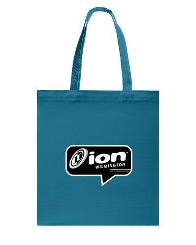 ION Wilmington Conversation Canvas Shopping Tote