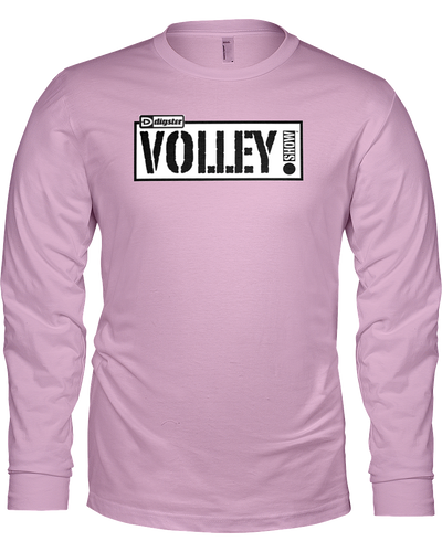 Digster Volley Show™ Logo Long Sleeve Tee