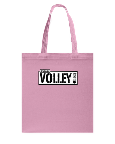 Digster Volley Show™ Logo Canvas Shopping Tote