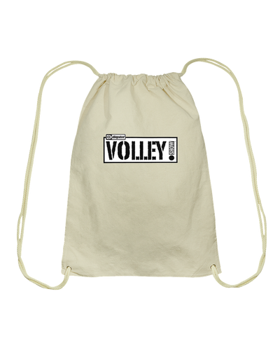 Digster Volley Show™ Logo Cotton Drawstring Backpack