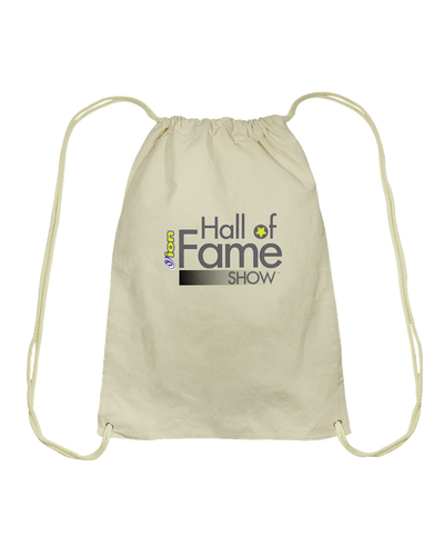 ION Hall of Fame Show™ Cotton Drawstring Backpack