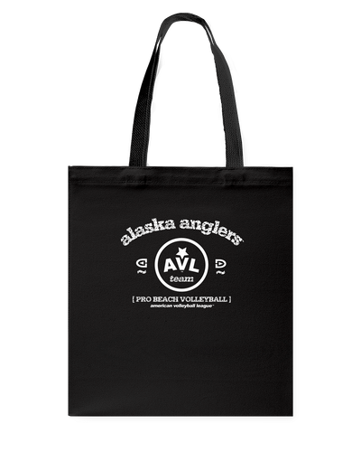 AVL Alaska Anglers Bearch Canvas Shopping Tote