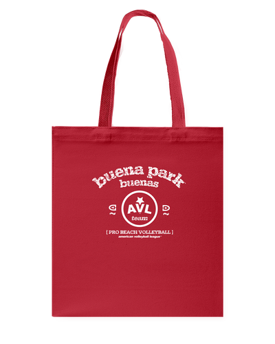 AVL Buena Park Buenas Bearch Canvas Shopping Tote