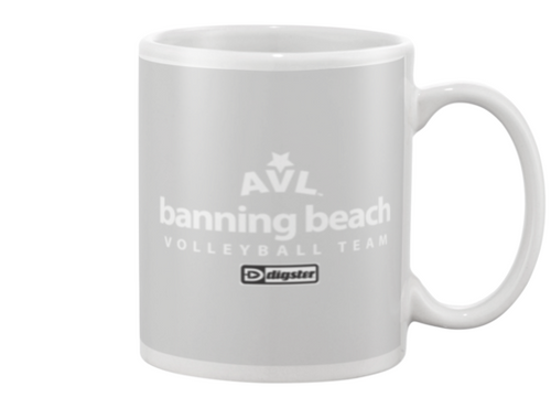 AVL Banning Beach Volleyball Team Issue Beverage Mug