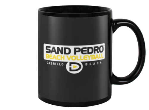 Sand Pedro Beach Volleyball Beverage Mug