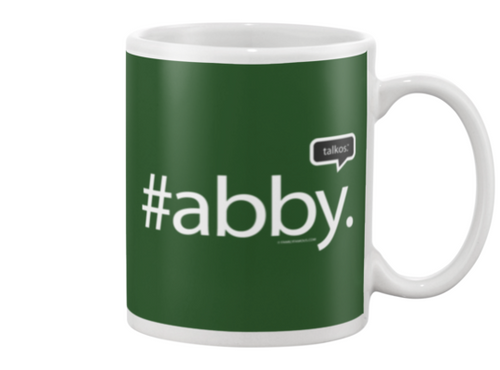 Family Famous Abby Talkos Beverage Mug