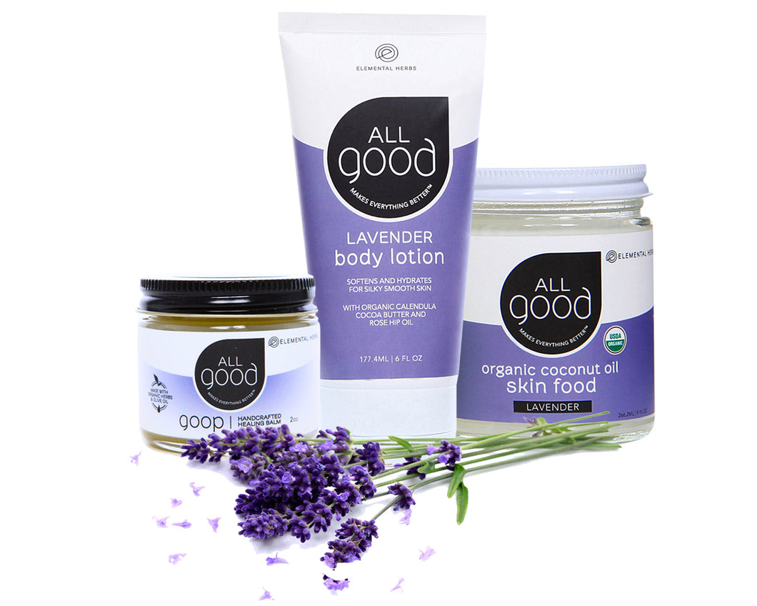 ION Health All Good Lavender Lover's Set