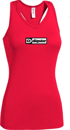 Digster AI231 Women's Workout Tech Volleyback