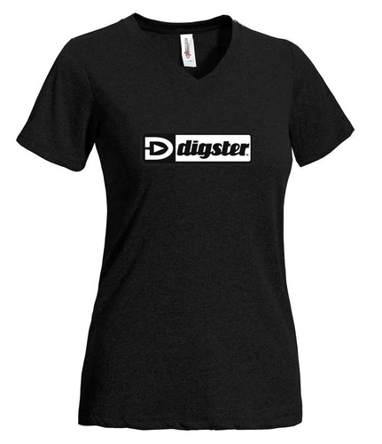 Digster AT220 Women's SS Natural Feel Jersey V-Neck