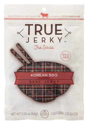 ION Nutrition - True Jerky Brand | Korean BBQ Beef Jerky