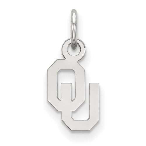 University of Oklahoma Sterling Silver Extra Small Pendant