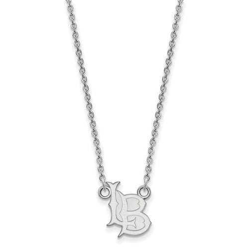 California State University, Long Beach Small Pendant with Necklace
