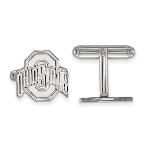 Ohio State University Sterling Silver Cuff Links