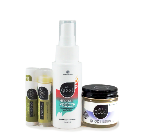 ION Health All Good Herbal Healing Set (SM)