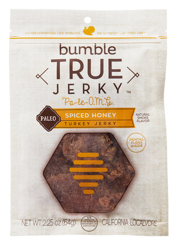 ION Nutrition - True Jerky Brand | Paleo Spiced Honey Turkey Jerky