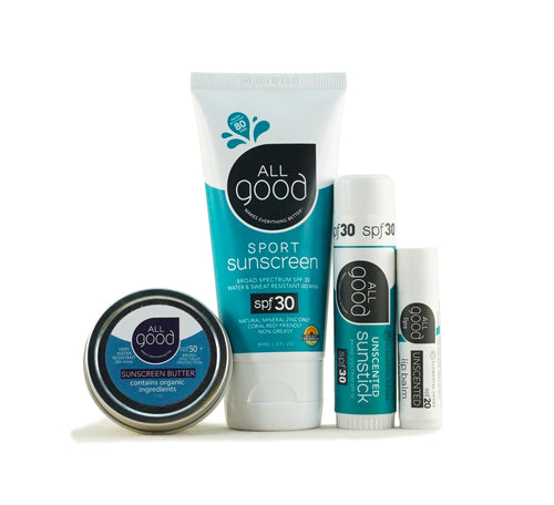 ION Health All Good Sun Care Set (Unscented)
