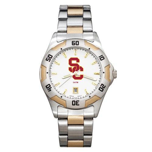 USC All-Pro Men's Two-Tone Watch
