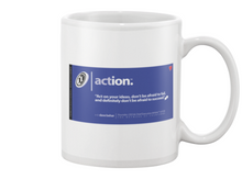 Action Behar Memes Beverage Mug