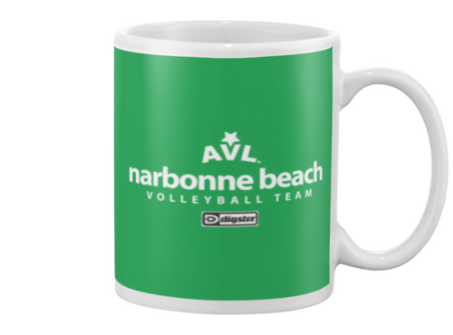 AVL Narbonne Beach Volleyball Team Issue Beverage Mug