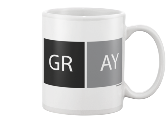 Gray Dubblock BGY Beverage Mug
