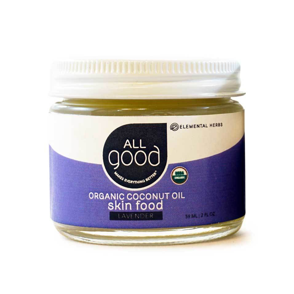 ION Health All Good Lavender Coconut Oil Skin Food 2 oz.