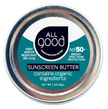 ION Health All Good SPF 50+ Water Resistant Zinc Sunscreen Butter, 1 oz.