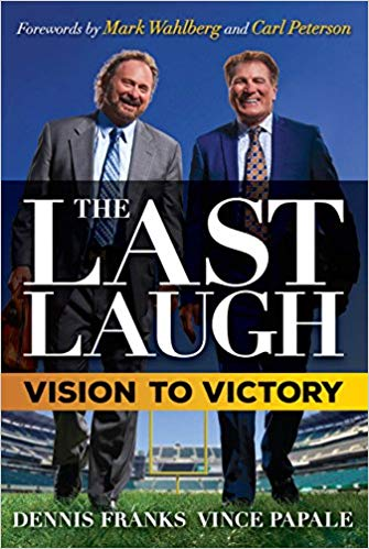 ION Books - The Last Laugh - Vince Papale and Dennis Franks | Limited Edition