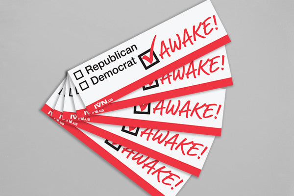 Awake Sticker 5 Pack Bundle
