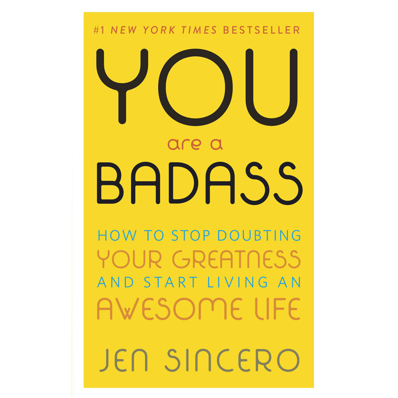 BOOK: YOU ARE A BADASS