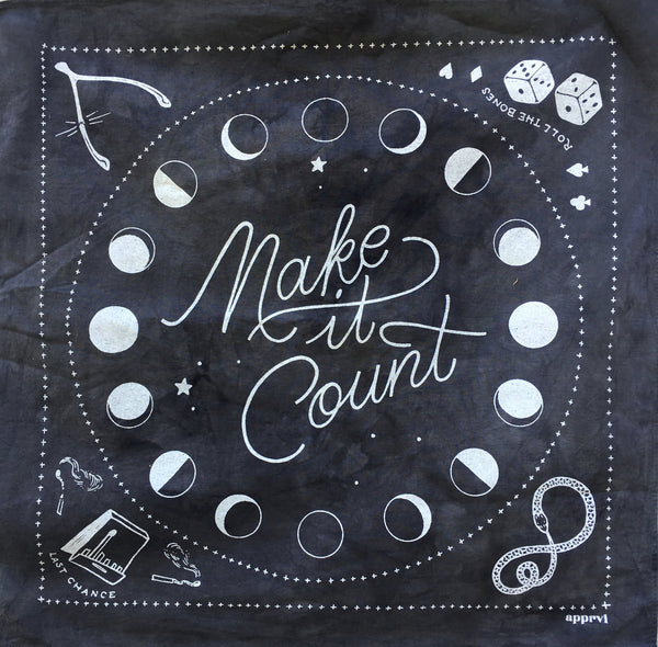 Make it Count Bandana