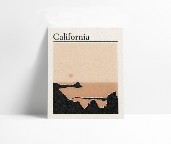 'California' Art Print