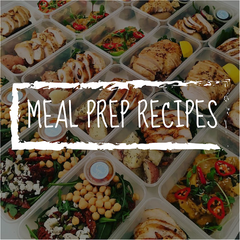Use these garden food prep, healthy meal prep recipes as part of your healthy eating plan