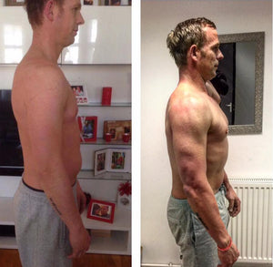 our fresh healthy food delivery and meal prep service helped Ant lose fat and build muscle