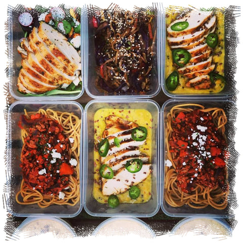 garden food prep, meal prep service, healthy ready meals, designed for gents cutting, meal prep plan