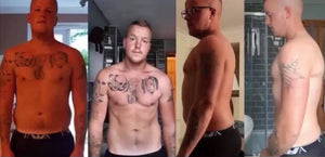 our healthy meals for weight loss played a vital in Luke's body transformation