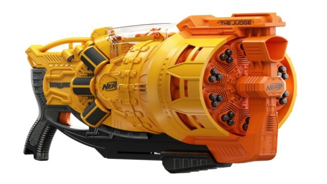 Best High Capacity Nerf Blaster, Doomlands Judge
