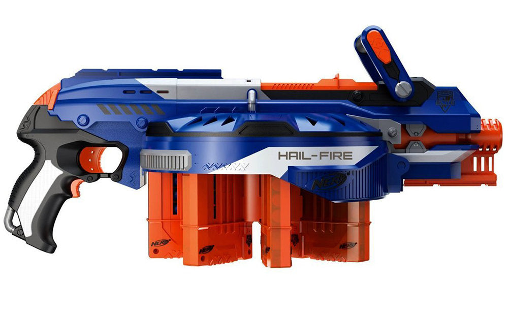 Best High Capacity Nerf Blaster, Hail Fire